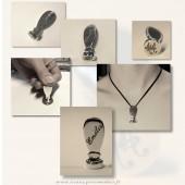 bijoux  personnalisables Argent, bronze, ou Etain veritable