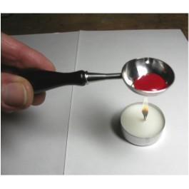 Cuillère à cire Inox