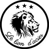 """Fer à marquer 45mm """"le lion d'acier"""""""